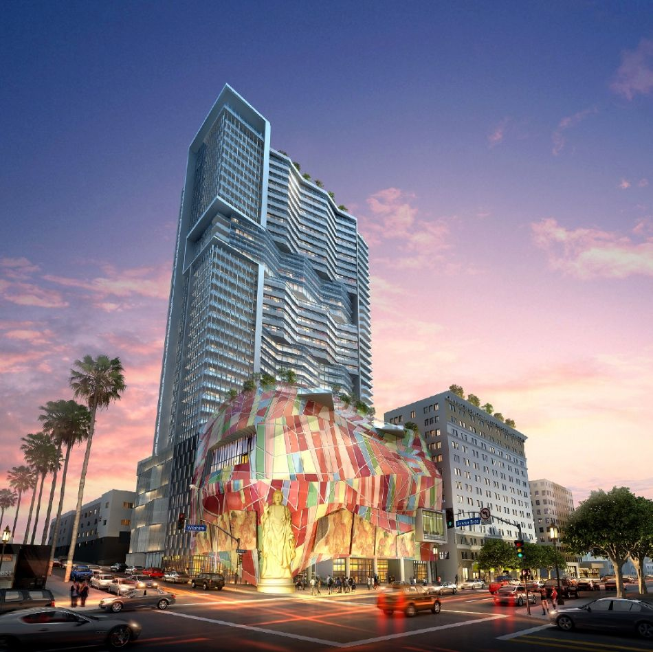Rendering of the Lake on Wilshire (Image: LADCP)